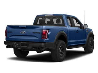 Lightning Blue 2017 Ford F-150 Pictures F-150 SuperCab Raptor 4WD photos rear view