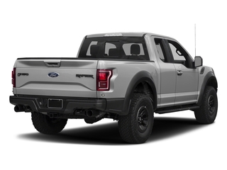 Ingot Silver Metallic 2017 Ford F-150 Pictures F-150 SuperCab Raptor 4WD photos rear view