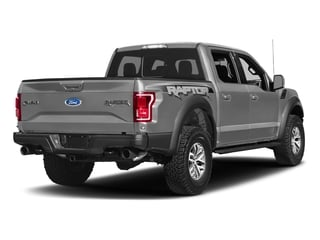 Ingot Silver Metallic 2017 Ford F-150 Pictures F-150 Crew Cab Raptor 4WD photos rear view
