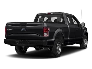 Shadow Black 2017 Ford F-150 Pictures F-150 Supercab XL 4WD photos rear view