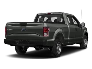Magnetic Metallic 2017 Ford F-150 Pictures F-150 Supercab XL 4WD photos rear view