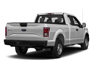 Ingot Silver Metallic 2017 Ford F-150 Pictures F-150 Supercab XL 4WD photos rear view
