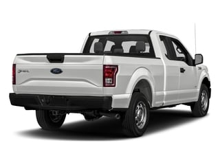 Oxford White 2017 Ford F-150 Pictures F-150 Supercab XL 4WD photos rear view