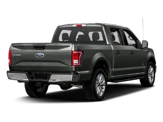 Magnetic Metallic 2017 Ford F-150 Pictures F-150 Crew Cab XLT 2WD photos rear view