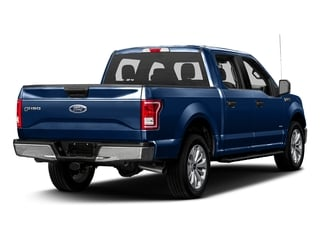 Lightning Blue 2017 Ford F-150 Pictures F-150 Crew Cab XLT 2WD photos rear view
