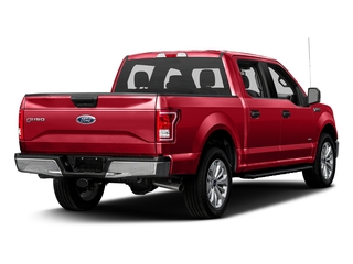 Race Red 2017 Ford F-150 Pictures F-150 Crew Cab XLT 2WD photos rear view