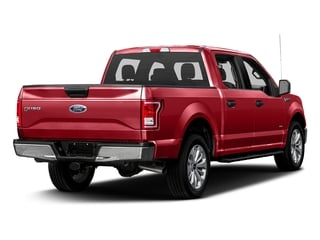 Ruby Red Metallic Tinted Clearcoat 2017 Ford F-150 Pictures F-150 Crew Cab XLT 2WD photos rear view