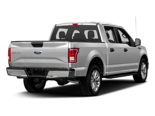 Ingot Silver Metallic 2017 Ford F-150 Pictures F-150 Crew Cab XLT 2WD photos rear view