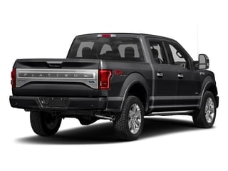 Shadow Black 2017 Ford F-150 Pictures F-150 Crew Cab Platinum 2WD photos rear view