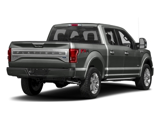Magnetic Metallic 2017 Ford F-150 Pictures F-150 Crew Cab Platinum 2WD photos rear view