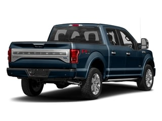 Blue Jeans Metallic 2017 Ford F-150 Pictures F-150 Crew Cab Platinum 2WD photos rear view