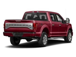 Ruby Red Metallic Tinted Clearcoat 2017 Ford F-150 Pictures F-150 Crew Cab Platinum 2WD photos rear view