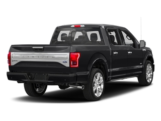 Shadow Black 2017 Ford F-150 Pictures F-150 Crew Cab Limited EcoBoost 2WD photos rear view