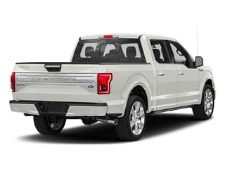 White Platinum Metallic Tri-Coat 2017 Ford F-150 Pictures F-150 Crew Cab Limited EcoBoost 2WD photos rear view