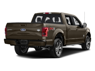 Caribou Metallic 2017 Ford F-150 Pictures F-150 Crew Cab King Ranch 4WD photos rear view