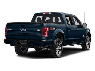 Blue Jeans Metallic 2017 Ford F-150 Pictures F-150 Crew Cab King Ranch 4WD photos rear view
