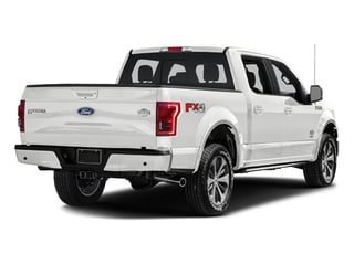 Oxford White 2017 Ford F-150 Pictures F-150 Crew Cab King Ranch 4WD photos rear view