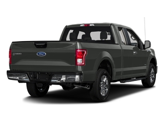 Magnetic Metallic 2017 Ford F-150 Pictures F-150 Supercab XLT 4WD photos rear view