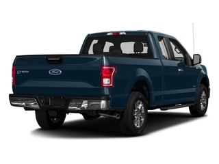 Blue Jeans Metallic 2017 Ford F-150 Pictures F-150 Supercab XLT 4WD photos rear view