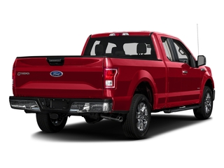 Race Red 2017 Ford F-150 Pictures F-150 Supercab XLT 4WD photos rear view