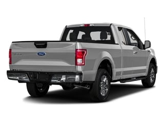 Ingot Silver Metallic 2017 Ford F-150 Pictures F-150 Supercab XLT 4WD photos rear view
