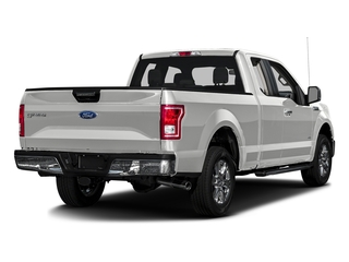 Oxford White 2017 Ford F-150 Pictures F-150 Supercab XLT 4WD photos rear view