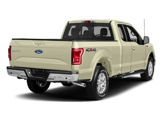 White Gold 2017 Ford F-150 Pictures F-150 Supercab Lariat 2WD photos rear view