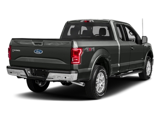Magnetic Metallic 2017 Ford F-150 Pictures F-150 Supercab Lariat 2WD photos rear view