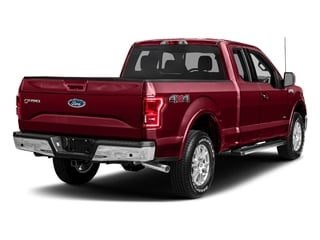 Ruby Red Metallic Tinted Clearcoat 2017 Ford F-150 Pictures F-150 Supercab Lariat 2WD photos rear view