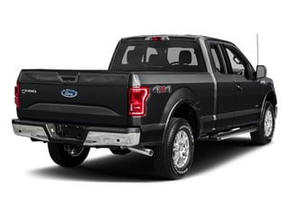 Lithium Gray 2017 Ford F-150 Pictures F-150 Supercab Lariat 2WD photos rear view