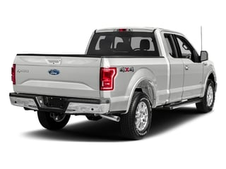 White Platinum Metallic Tri-Coat 2017 Ford F-150 Pictures F-150 Supercab Lariat 2WD photos rear view