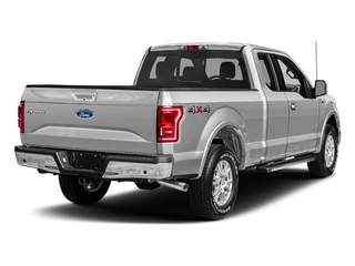 Ingot Silver Metallic 2017 Ford F-150 Pictures F-150 Supercab Lariat 2WD photos rear view