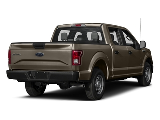 Caribou Metallic 2017 Ford F-150 Pictures F-150 Crew Cab XL 2WD photos rear view