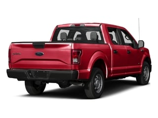 Race Red 2017 Ford F-150 Pictures F-150 Crew Cab XL 2WD photos rear view