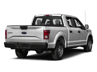 Ingot Silver Metallic 2017 Ford F-150 Pictures F-150 Crew Cab XL 2WD photos rear view
