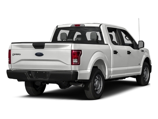 Oxford White 2017 Ford F-150 Pictures F-150 Crew Cab XL 2WD photos rear view