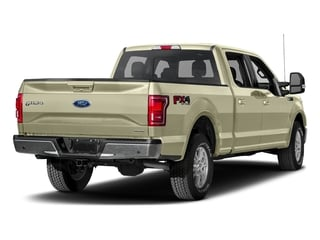White Gold 2017 Ford F-150 Pictures F-150 Crew Cab Lariat 4WD photos rear view