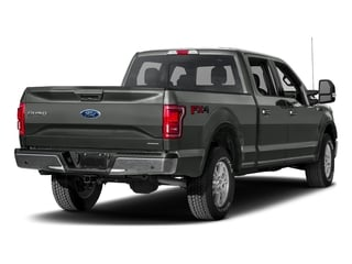 Magnetic Metallic 2017 Ford F-150 Pictures F-150 Crew Cab Lariat 4WD photos rear view