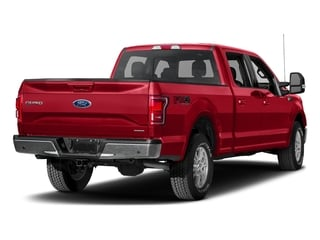 Race Red 2017 Ford F-150 Pictures F-150 Crew Cab Lariat 4WD photos rear view