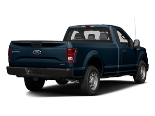 Blue Jeans Metallic 2017 Ford F-150 Pictures F-150 Regular Cab XL 4WD photos rear view