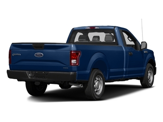 Lightning Blue 2017 Ford F-150 Pictures F-150 Regular Cab XL 4WD photos rear view