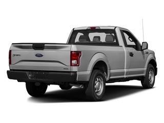 Ingot Silver Metallic 2017 Ford F-150 Pictures F-150 Regular Cab XL 4WD photos rear view