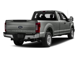 Magnetic Metallic 2017 Ford Super Duty F-250 SRW Pictures Super Duty F-250 SRW Supercab XLT 2WD photos rear view