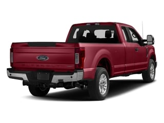 Ruby Red Metallic Tinted Clearcoat 2017 Ford Super Duty F-250 SRW Pictures Super Duty F-250 SRW Supercab XLT 2WD photos rear view