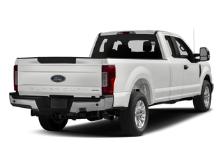 Oxford White 2017 Ford Super Duty F-250 SRW Pictures Super Duty F-250 SRW Supercab XLT 2WD photos rear view