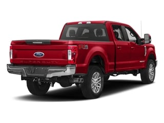Race Red 2017 Ford Super Duty F-250 SRW Pictures Super Duty F-250 SRW Crew Cab Lariat 4WD photos rear view