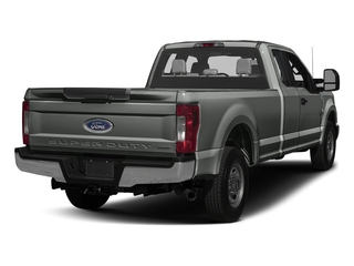 Magnetic Metallic 2017 Ford Super Duty F-250 SRW Pictures Super Duty F-250 SRW Supercab XL 4WD photos rear view