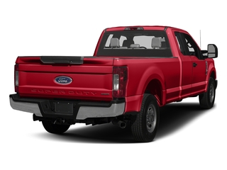Race Red 2017 Ford Super Duty F-250 SRW Pictures Super Duty F-250 SRW Supercab XL 4WD photos rear view