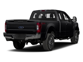 Shadow Black 2017 Ford Super Duty F-350 SRW Pictures Super Duty F-350 SRW Supercab Lariat 2WD photos rear view