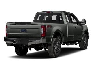 Magnetic Metallic 2017 Ford Super Duty F-350 SRW Pictures Super Duty F-350 SRW Supercab Lariat 2WD photos rear view